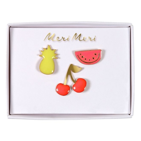 Pins emaille tropisch fruit