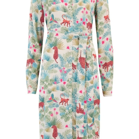 Reva Daybreak Jungle Shirt Dress