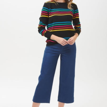 Rita Paradise Rainbow stripe sweater