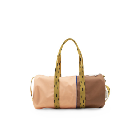 1801573 - Sticky Lemon - duffle bag large - sprinkles - lemonade pink + sugar brown + panache go