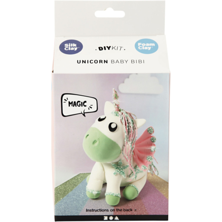 Foam clay - unicorn green