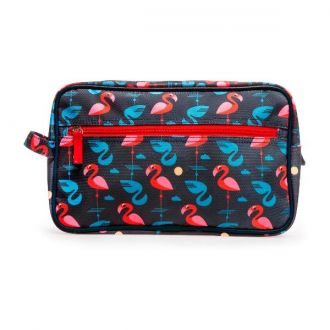 Wash bag flamingo