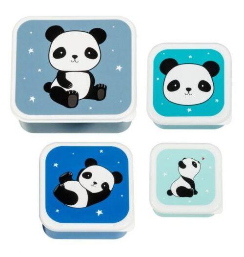 snackdoosjes 4 in 1 - panda