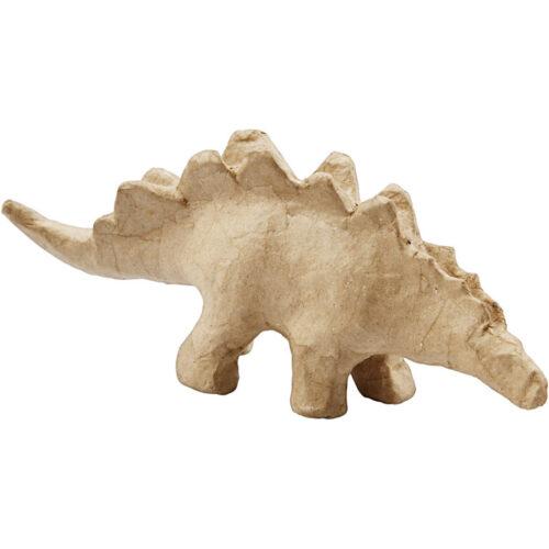 Dinosaurus papier-mâché - stegosaurus
