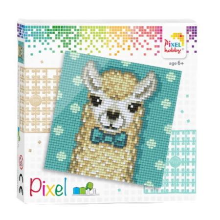 Pixel set alpaca