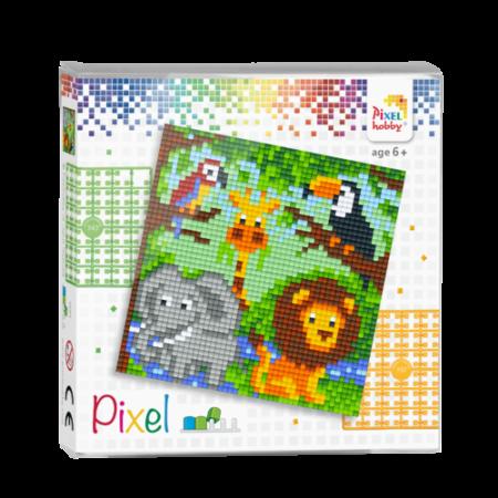 Pixel set dierrenrijk
