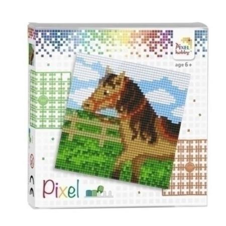 Pixel set paard