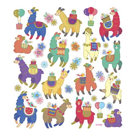 Stickers lama 3
