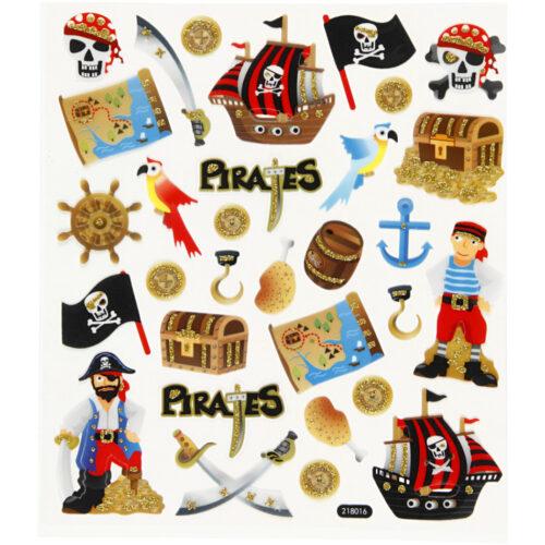 Stickers piraten 2