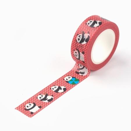 Washi tape panda 1