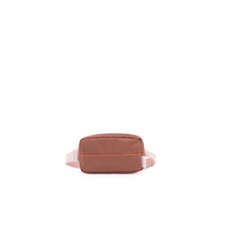 fanny pack envelope cider brown - tangerine