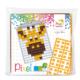 pixel medaillon giraf