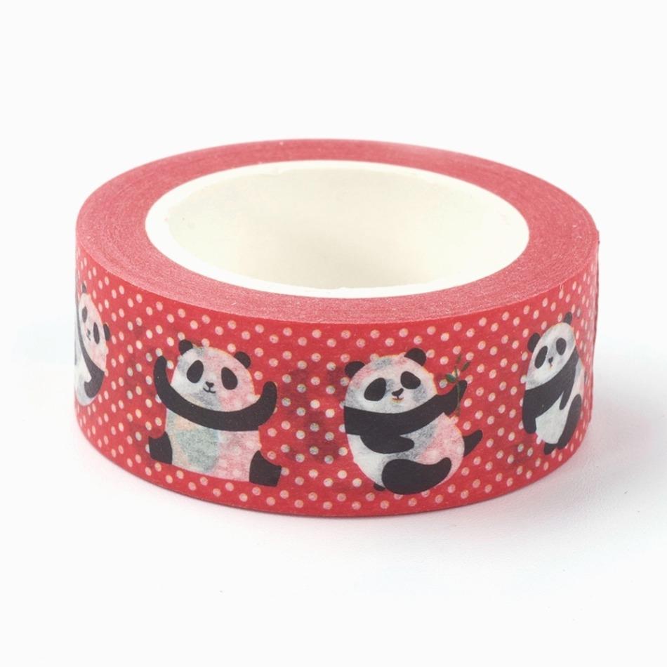washi tape panda