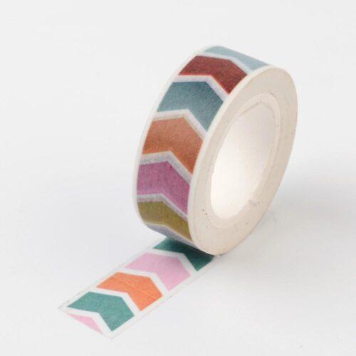 washi tape chevron