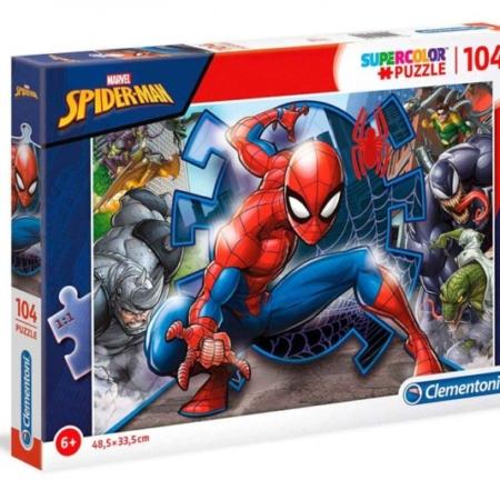 Clementoni Puzzel 104 stukjes Spider-Man