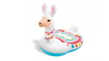 Intex Cute Llama Ride-On 1.35mx94cmx1.12m