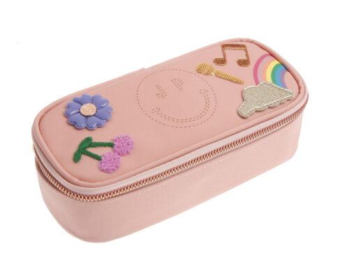 Pencil box lady gadget pink