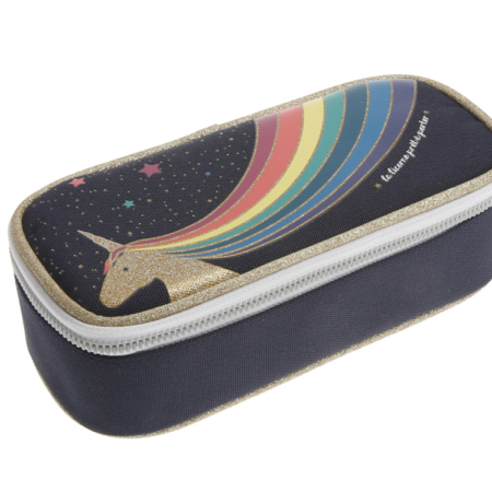 Pencil box unicorn gold