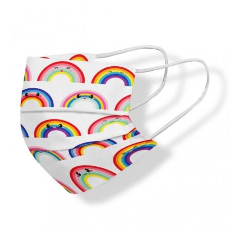 mondmasker regenboog