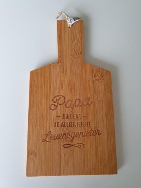 Borrelplankje - Papa