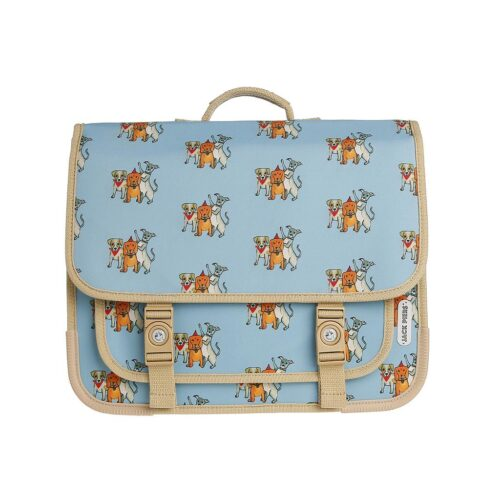 Schoolbag Paris Large Party Dogs