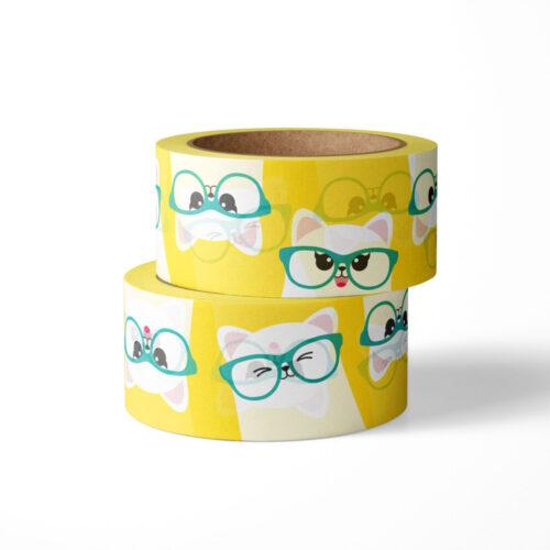 Washi tape studio inktvis kat