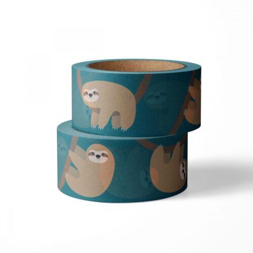 Washi tape studio inktvis luiaard