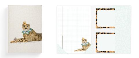 [BR033] Briefpapier Leopard