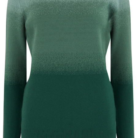 K0275 BECKA DAYBREAK OMBRE SWEATER GREEN_5