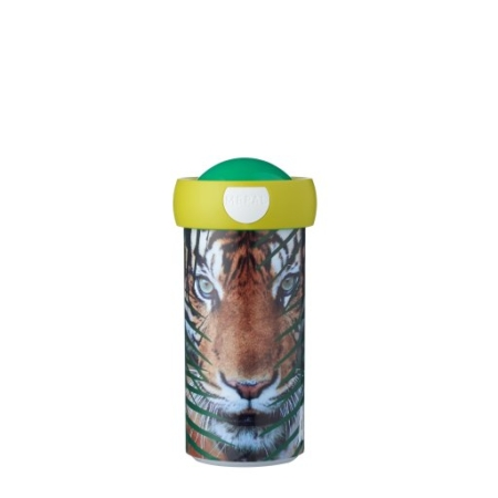 schoolbeker-campus-300-ml-animal-planet-tijger