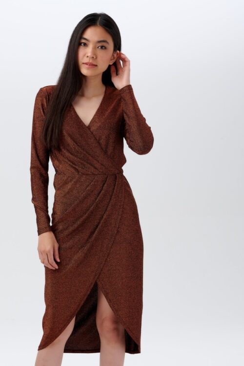 Duana Sparkle Wrap Dress1