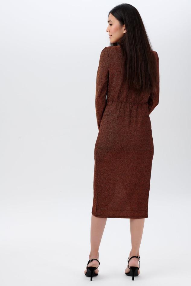 Duana Sparkle Wrap Dress3