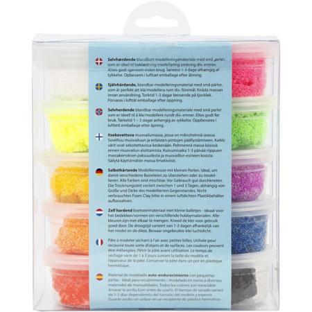 Foam Clay®, Diverse Kleuren, 35 gr, 10 Doosjes 3
