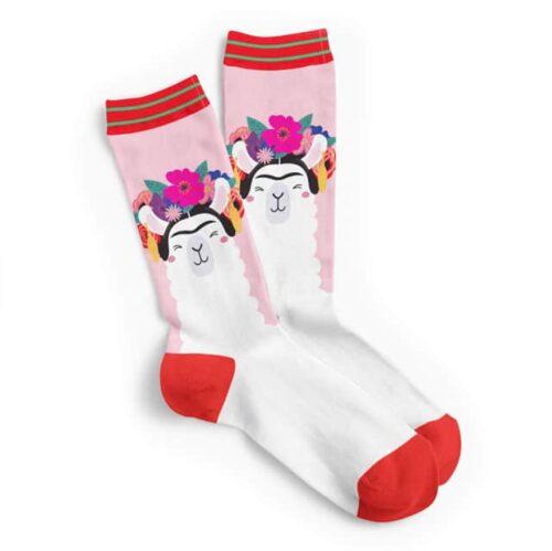 Frida-kahlo-llama-sokken-kl (1)