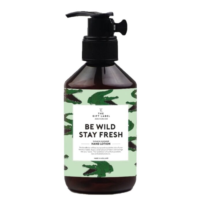 HAND LOTION - BE WILD STAY FRESH