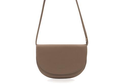 1601496 - Monk & Anna - product - Soma half moon bag - Cacoa - 2