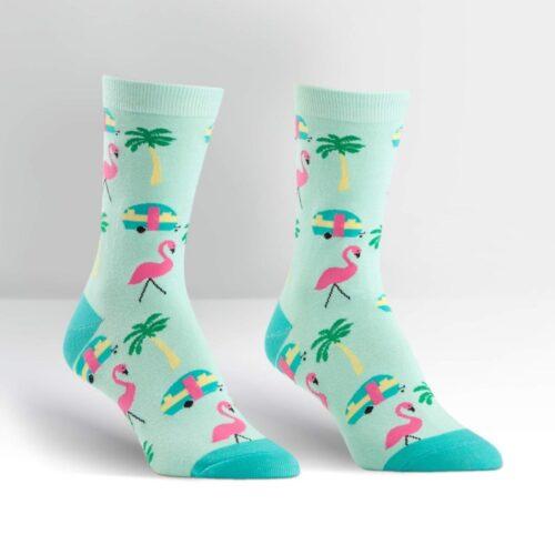 Sokken Florida flamingo