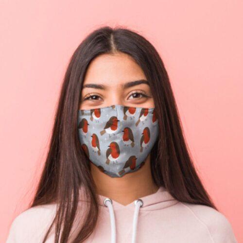 mondmasker roodborstje