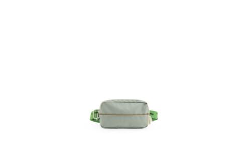 1801791 - Sticky Lemon - fanny pack - sprinkles - steel blue + apple green + brassy green