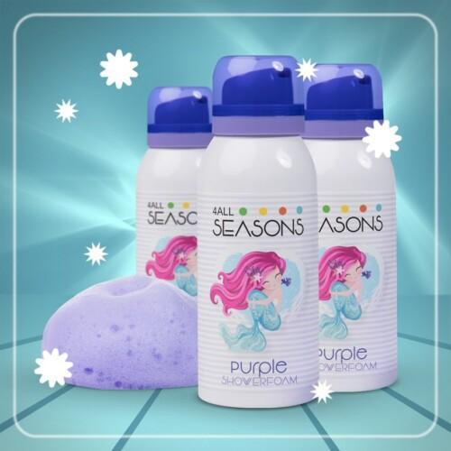 Shower Foam Purple Mermaid 100ml3