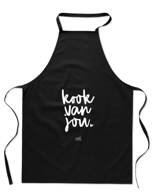 Keukenschort Kook van jou