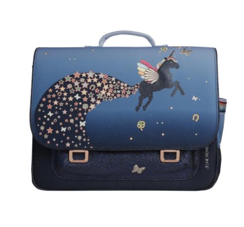 Jeune Premier boekentas - It bag midi unicorn universe