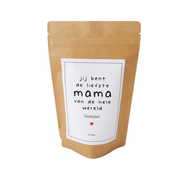 Moederdag - Koekjes - Jij bent de liefste mama van de hele wereld (3)