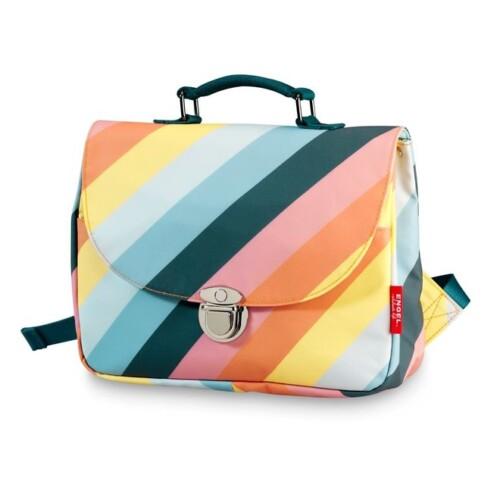 engel-schooltas-small-stripe-rainbow