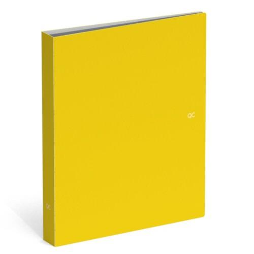 Polyprop kaft A4 - QC Colour maize yellow