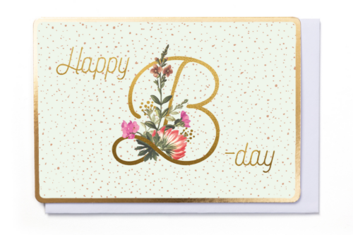 [FB2958] HAPPY B-DAY