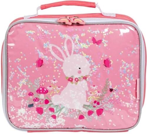 Koeltasje - glitter konijn1