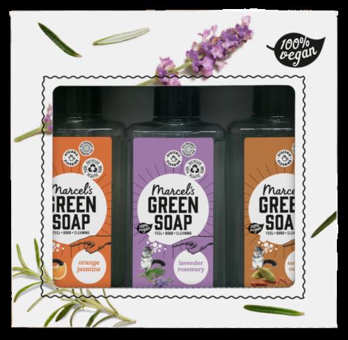 Giftset-Marcels-green-Soap-handzeep