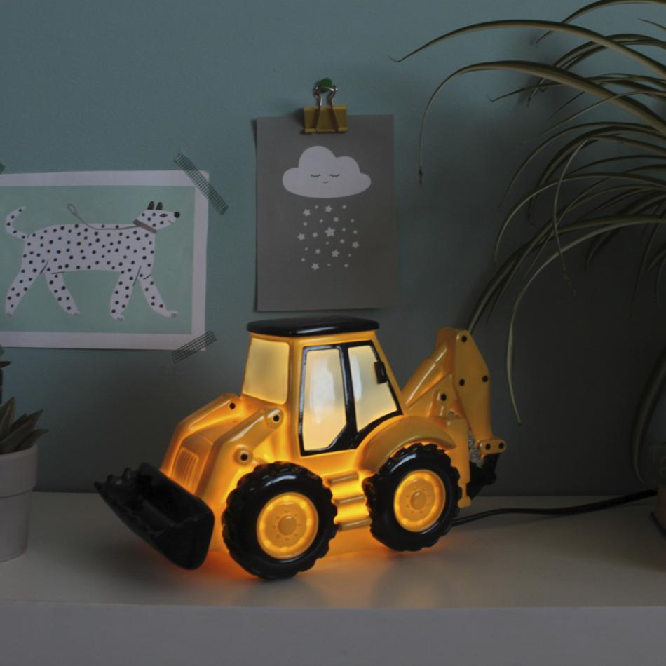 Nachtlampje graafmachine (6)